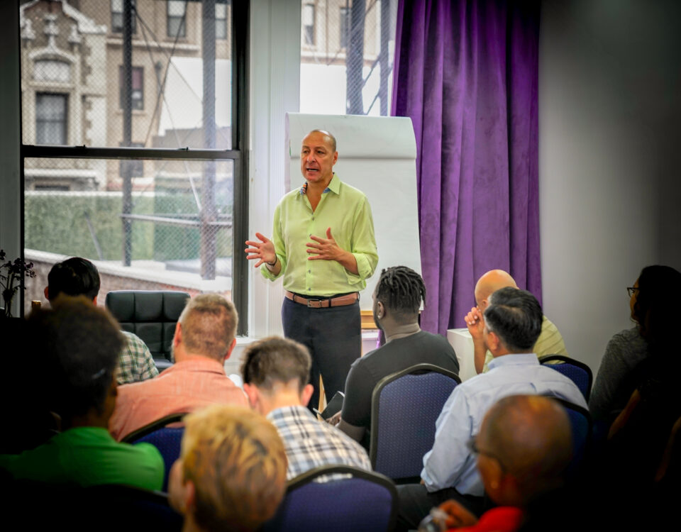 Synergy Education's core curriculum focuses on personal development and leadership skills.